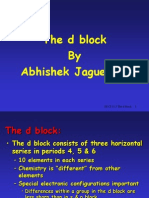 The d Block by Abhishek Jaguessar