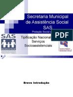 apresentação tipificação SAS