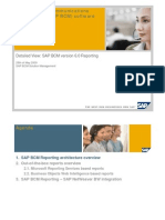SAP BCM 6 Reporting Overview