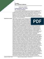 MEDIDA PROVISÓRIA Nº 532, DE 2011