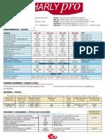 Especificaciones Técnicas de las fresadoras CNC CharlyPRO (Formato Medio/Grande)