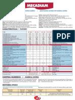 Especificaciones técnicas de las pulidoras de acrílicos y metacrilato Mécanuméric MECADIAM