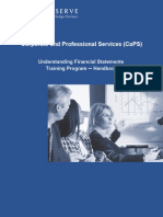 Understanding Financial Statements Handout Final