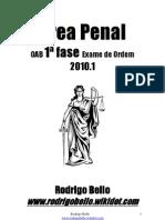 1ª Fase - 2010.1 Exame Ordem - RODRIGO BELLO