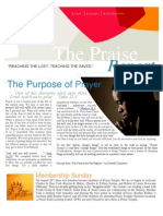 The Praise Report September 2011