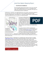 Food Deserts Notes