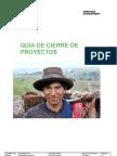 Guía de cierre de proyectos CTB