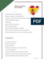 Spanish Intermediate Level Course