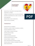 Spanish Advanced Level Course