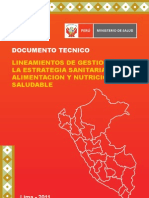 to de Gestion Nutricion 2011