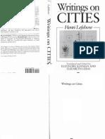 Henri Lefebvre - Writings on Cities