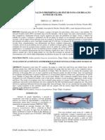 Avaliação de aceitação e preferência do filé de panga em relação ao filé de tilápia