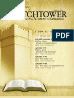 Atalaya de estudio para Septiembre