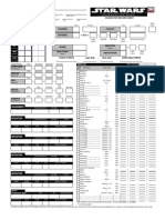 SW d20 Character Sheet