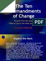 The Ten Commandments of Change