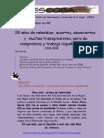 LA ESCOBA - Boletina Feminista, SEGUNDA ÉPOCA AÑO 1 Nº 1