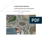 Roundabout Design Standards