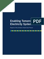 Smart Grid Forum-Report