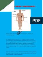 Sistema Inmune o Inmunologico
