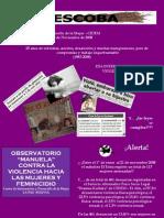 LA ESCOBA - Boletina Feminista, SEGUNDA ÉPOCA AÑO 1 Nº 4