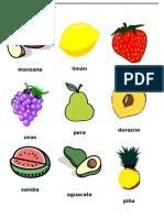 Loteria de Frutas y Verduras