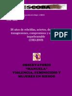 LA ESCOBA - Boletina Feminista, SEGUNDA ÉPOCA AÑO2 Nº 5