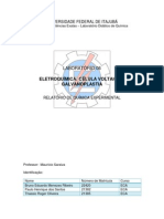 relatorio - eletroquimica