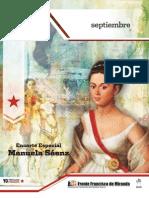 Encarte Especial Manuela Saenz