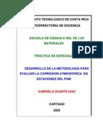 Informe de Prácticas - Instituto de Costa Rica