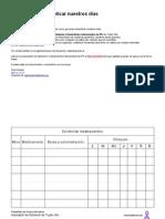 Documentos  para organizar y facilitar nuestros días