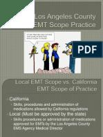 EMT LA County Scope 2011
