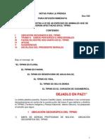 Nota de Prensa Tipnis Afiche y Mapas