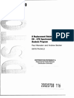 A Replacement Database for the CH-47D Spectrometric Oil Analysis Program