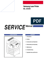 Service Manual - Samsung ML-3550N