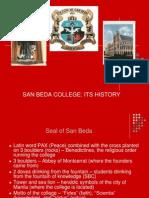 History of San Beda