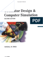 Noble - Oscillator Design and Computer Simulation
