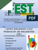 Gestión administrativa y coordinadora de un Centro estudiantil