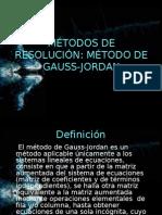 Metodos Numericos Gauss-jordan