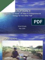 Micro Finance May 2004
