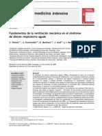 Fundamentos ventilacion mecanica sındrome distress