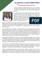 SEMBLANZA DE JUAN DE LA CRUZ GOMEZ PEREZ