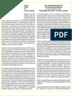 Los Daños Escondidos de La FIV - The hidden danger of in vitro fertilization