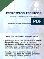Analisis de Pto Equilibrio Para Proyectos Cep2 2010