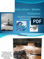 Education- Water Pollution