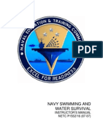 Navy Swimming and Water Survival