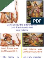 Rama & Krishna