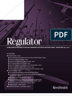 REGULATOR Magazine Global News OF RELE VANCE TO Ent ities & In dividuals aff ect ed by ant itr ust issues – Winter 2009 vol II No 1 0812antitrust_regulator