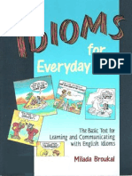 Idioms for Every Day Use
