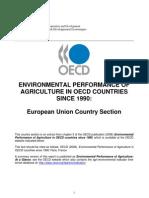 Environmental Performance of Agri in OECD 1990 Onwards