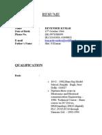Copy of Dk Resume